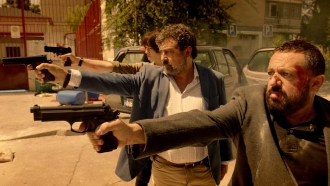 Una escena de la serie 'Los hombres de Paco', en su regreso a Antena 3.