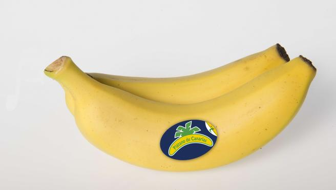 Plátano de Canarias lanza un nuevo etiquetado con información nutricional