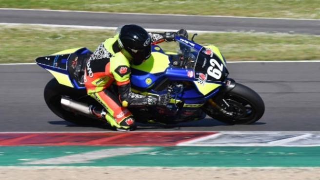 Stelvio Boaretto, piloto amateur fallecido en Mugello