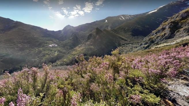 Valle del Silencio, en El Bierzo, León.
