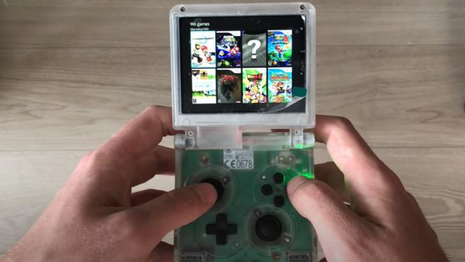 La interfaz de la Wii Spii muestra varios juegos de la Nintendo Wii disponibles.