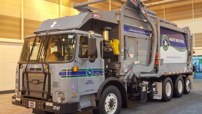 Un camión recolector de basura, en una foto de archivo.