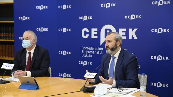 Cebek dice que el triunfo de PP en Madrid que defiende bajar impuestos debe hacer reflexionar sobre el uso del Concierto