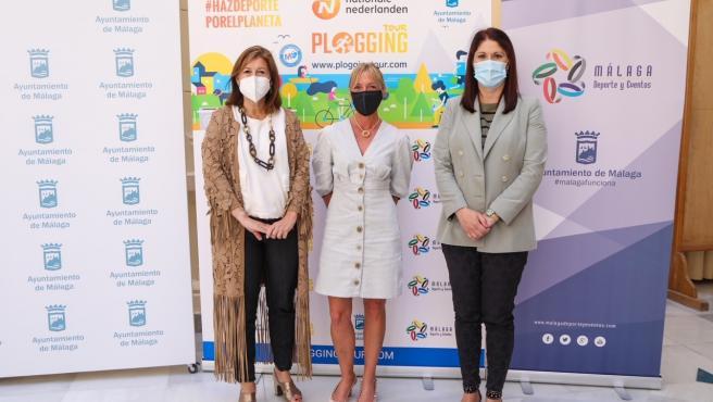 El Ayuntamiento de Málaga se suma a la celebración del 'Nationale-Nederlanden Plogging Tour'
