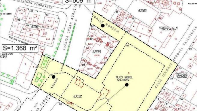 El Ayuntamiento saca a licitación los pliegos para la redacción del proyecto de la plaza de Salamero