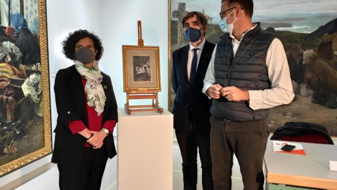 """El Bellas Artes da un """"salto cualitativo fundamental"""" con el depósito de 34 obras del IX Conde de Villagonzalo"""