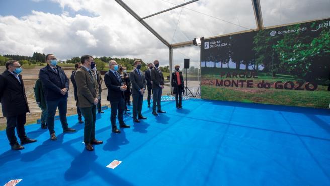 """Feijóo erige la revitalización del Monte do Gozo en ejemplo del compromiso de ofrecer """"un Camino para todos"""""""