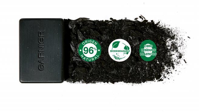 Uno de los nuevos productos de Garnier, biodegradable y con cero residuos plásticos