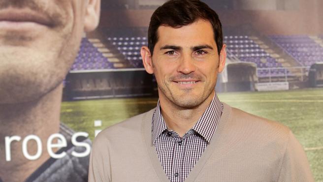 El exfutbolista Iker Casillas.