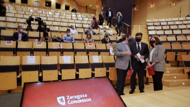 """La capital aragonesa quiere seguir siendo ciudad """"referente"""" en la actividad congresual"""