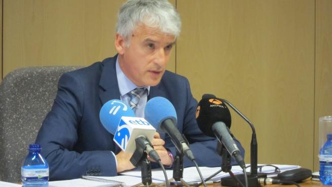 """Subijana afirma que la petición de la declaración del estado de alarma para Euskadi """"arrojaría seguridad jurídica"""""""