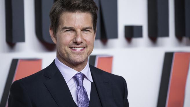 Tom Cruise en la premiere de 'Misión Imposible: Fallout' en Londres