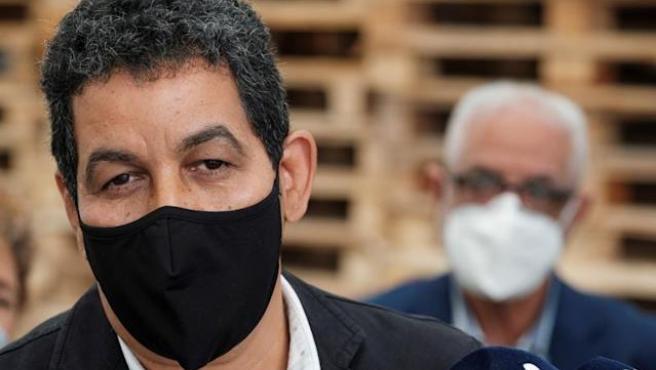 El representante del Frente Polisario en España, Abdulah Arabi.