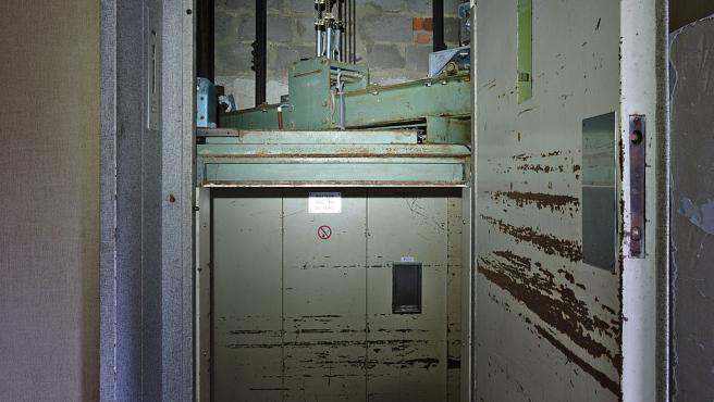 Hueco de un ascensor, en una imagen de archivo.