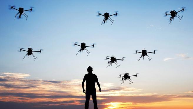 La semana pasada, se celebró una conferencia sobre inteligencia artificial en la fuerza aérea.