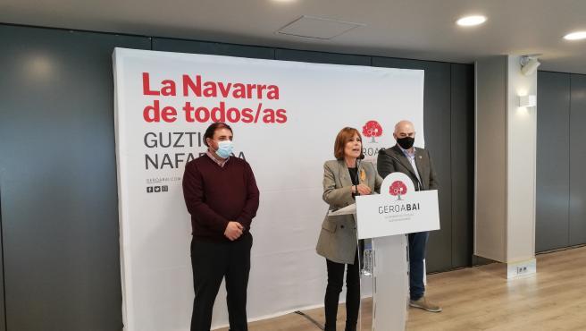 """Geroa Bai apuesta por la estabilidad del Gobierno de coalición pero critica """"incumplimientos"""" del acuerdo programático"""
