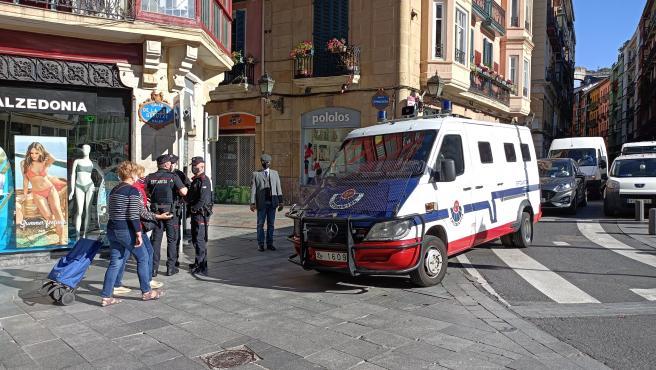 La empresa de 'Desokupa' no intervendrá finalmente en Bilbao para desalojar un piso del Casco Viejo