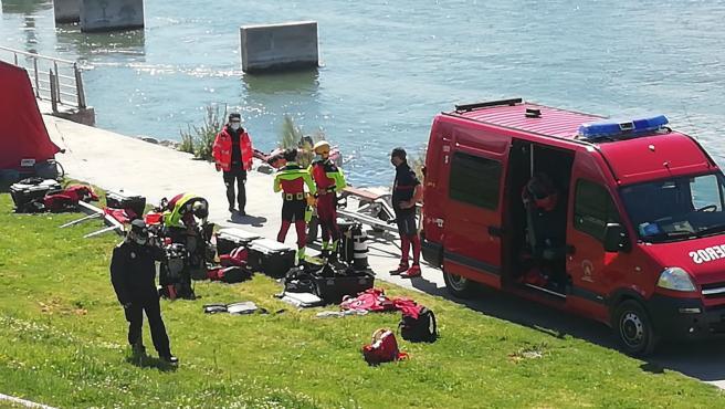 Sucesos.- Hallado el cuerpo sin vida del menor desparecido en el río Ebro