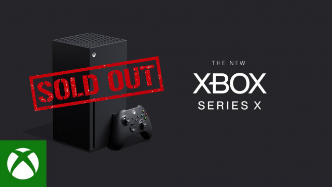 Nuevo stock de Xbox Series X en Microsoft Store hoy, 11 de mayo