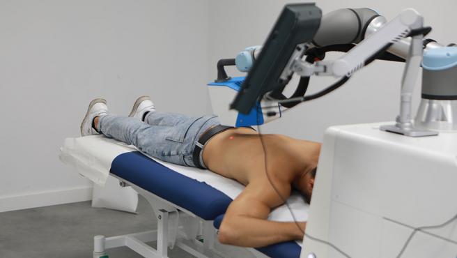 Al crear el Robot se tuvo en cuenta que fuera a imagen y semejanza del Fisioterapeuta.