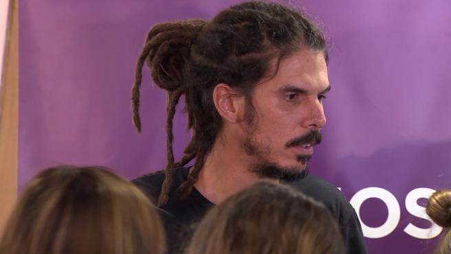 Alberto Rodríguez renuncia como secretario de la Organización Podemos