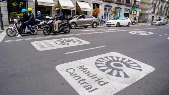 Ayuntamiento paraliza de forma provisional tramitación de multas de Madrid Central pero seguirá captando infractores