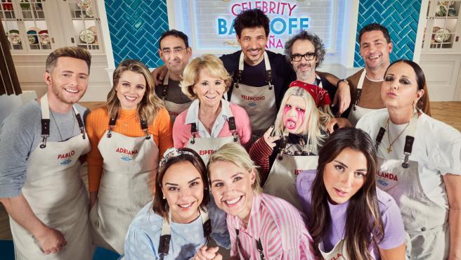 Concursantes de 'Celebrity Bake Off España', para Prime Video.