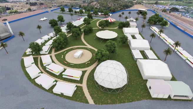 El Rototom propone a Benicàssim transformar el recinto de conciertos en espacio cultural abierto todo el año
