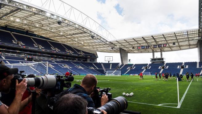 Dragao Stadium, in Porto
