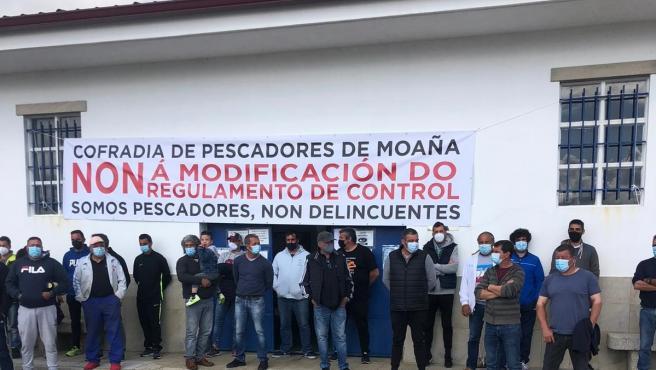 """Las cofradías gallegas vuelven a movilizarse contra el reglamento europeo ante la """"falta de diálogo de UE"""""""