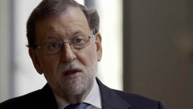 El expresidente del Gobierno Mariano Rajoy, en el programa '15M ¿Generación perdida?', de Cuatro.
