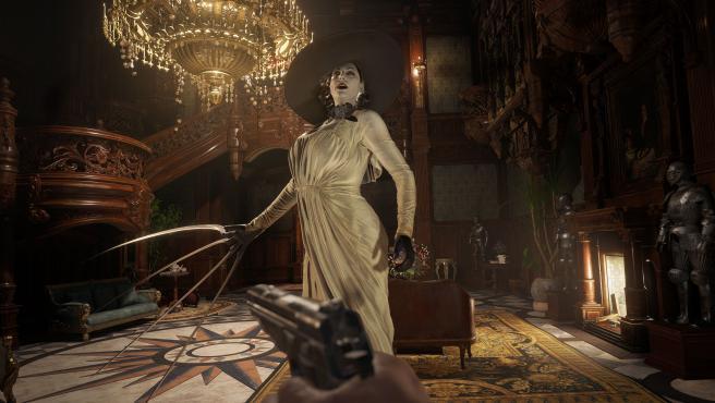 Lady Dimitrescu, una de las grandes villanas de 'Resident Evil Village'.