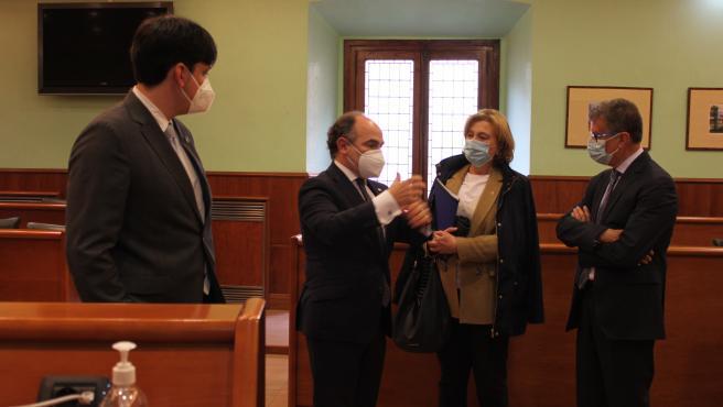 """Universidad y Principado proponen que Asturias sea """"un gran laboratorio"""" sobre el despliegue del 5G"""
