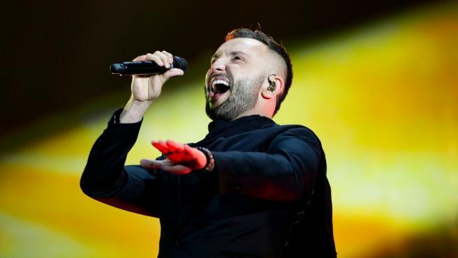 Vasil Garvanliev, representante de Macedonia en Eurovisión 2021.