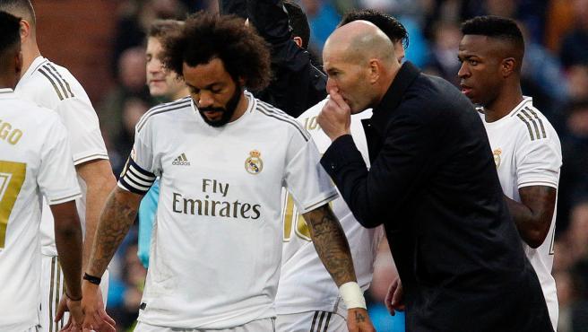 Zidane y Marcelo, en una foto de archivo