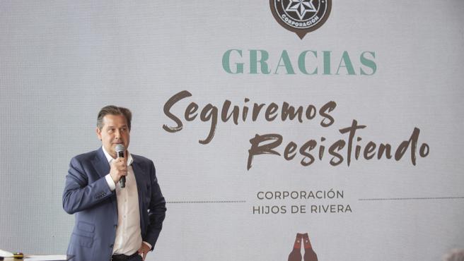 Ignacio Rivera, consejero delegado de Corporación Hijos de Rivera