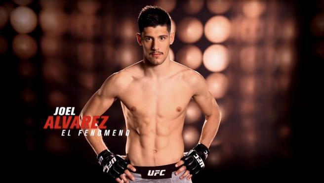 Joel Álvarez, luchador español de la UFC.