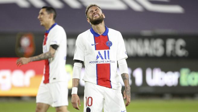 Neymar Jr., jugador del PSG.