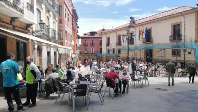 Asturias informa de 55 casos de COVID-19 en una nueva jornada sin fallecidos