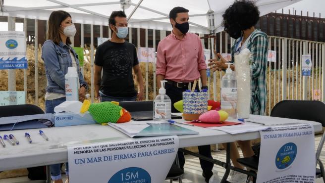 Diputación.- Diputación anima a toda la sociedad a apoyar la causa 'Un mar de firmas por Gabriel'
