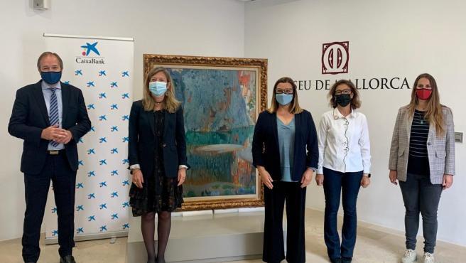 El Museo de Mallorca recibe 52 obras de arte del fondo pictórico de CaixaBank