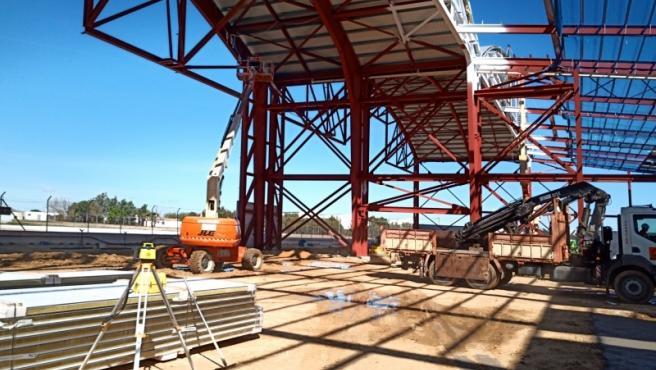El segundo hangar de reparaciones de Ryanair en Sevilla estará operativo este otoño
