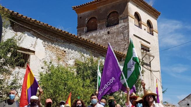 """La marcha hasta el cortijo de Gambogaz """"llama la atención a las instituciones que se han colocado de espaldas"""""""