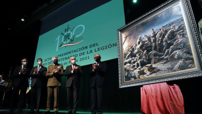 Unicaja.- Fundación Unicaja dona a Fundación Museo del Ejército un cuadro por el centenario de La Legión