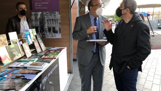 El Instituto de Estudios Turolenses promociona sus publicaciones en las ferias de libro de varias comunidades