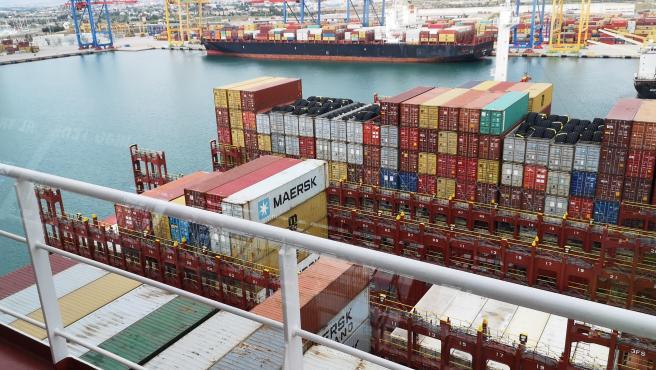 El Puerto de València mueve 479.171 contenedores en abril y marca récord mensual e interanual