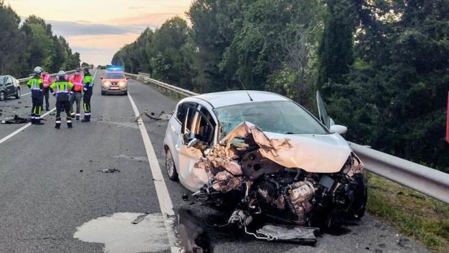 La Policía Foral atiende este fin de semana 15 accidentes viales con 11 heridos leves