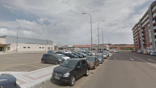 Imagen de archivo de la calle El Encinar, en León.