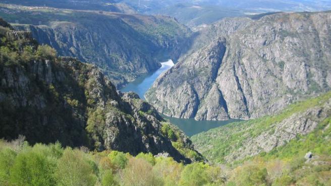 Cañón del Sil, en Ourense.