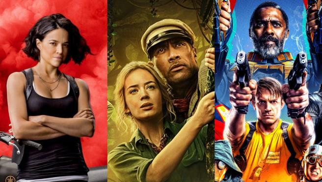 Detalles de los carteles de 'Fast & Furious 9', 'Jungle Cruise' y 'El escuadrón suicida'